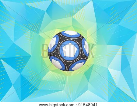 Argentina Soccer Ball Background