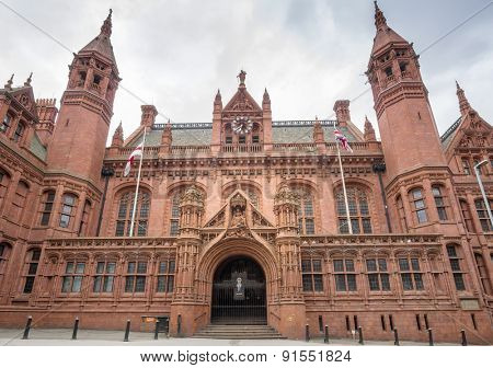 Birmingham,England, May 18th 2015 ,Magistrates' Court in Englands second city.