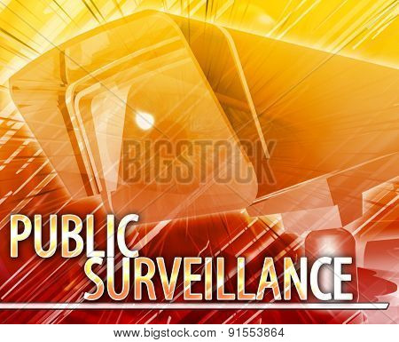 Public surveillance Abstract Abstract background digital collage concept illustration public surveillance concept digital illustration