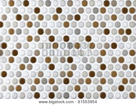 round marble textures gray and brown ball tiles seamless