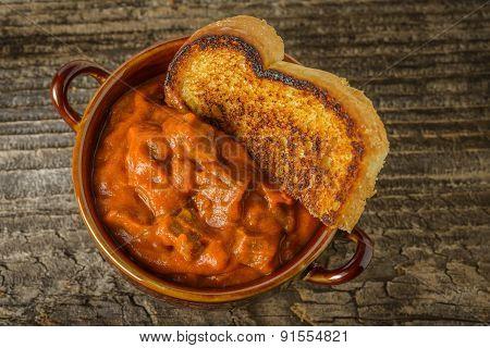 Chili And Toast