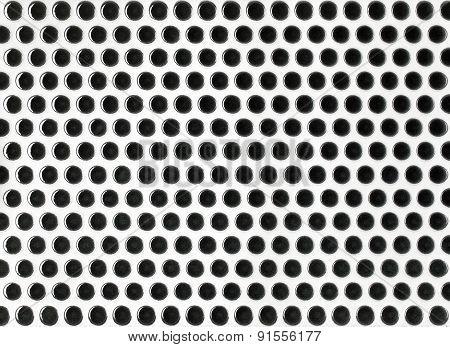 round marble textures black ball tiles seamless