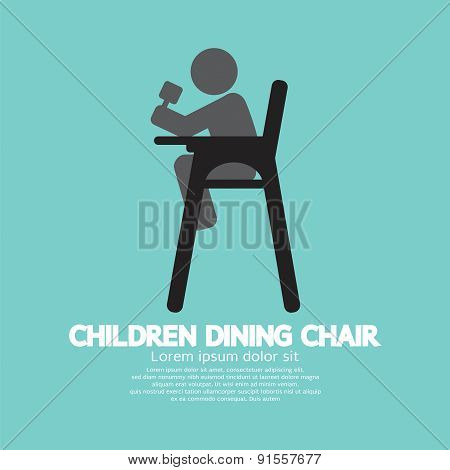 Children Dining Chair.