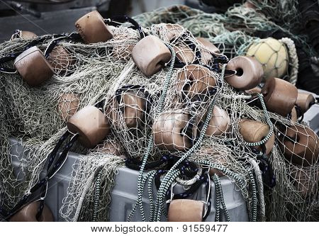Fishing nets in Massachusetts