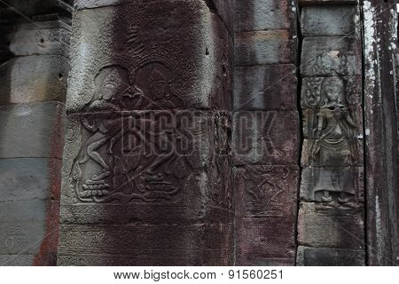 Banteay Kedi Temple in Angkor, Siem Reap, Cambodi