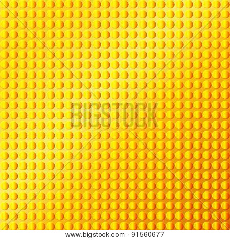 Gold Emboss Metallic Background