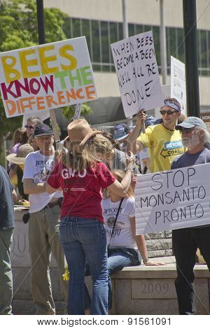 Grass Roots Gmo And Monsanto Protest Rally