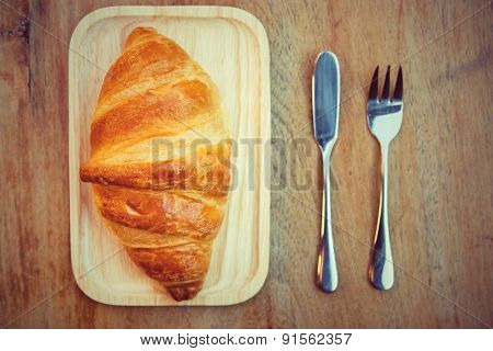 Croissant French Toast Is A Popular Place To Eat Europeans.