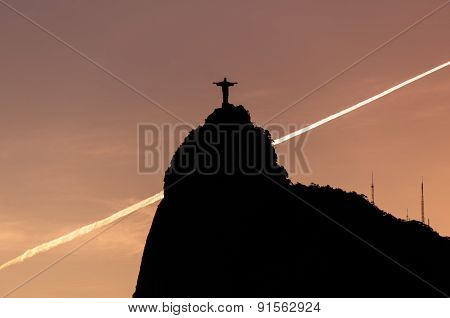 Corcovado Mountain with Christ the Redeemer