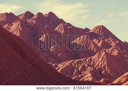 Mountain Plateau La Puna, Northern Argentina