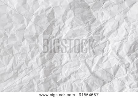 Paper Texture And Paper Croumpled Sheet Background