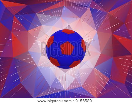 United Kingdom Soccer Ball Background