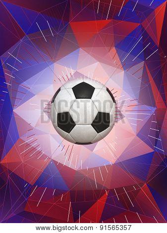 United Kingdom Soccer Ball Background