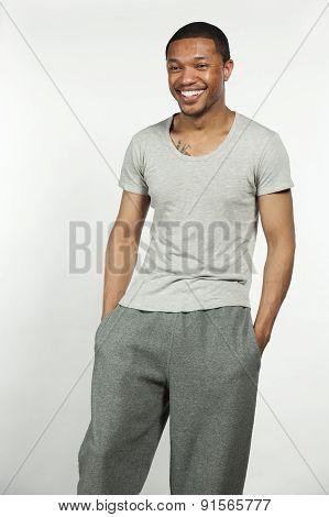 Black Male Workout Ready