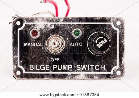 Grunge Switch Interruptor