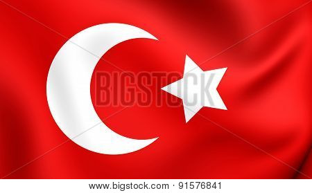 Flag Of Ottoman Empire
