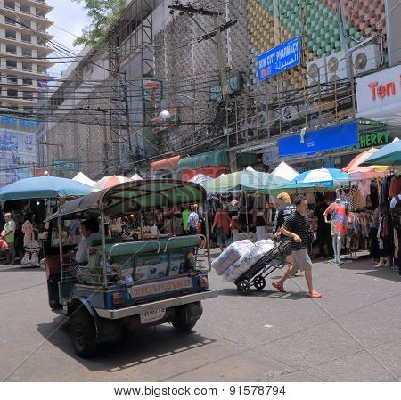 Shopping market Bangkok