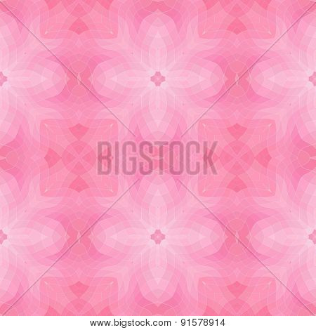 Seamless Mosaic Pattern Or Background In Pink