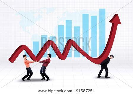 Teamwork And Profit Chart