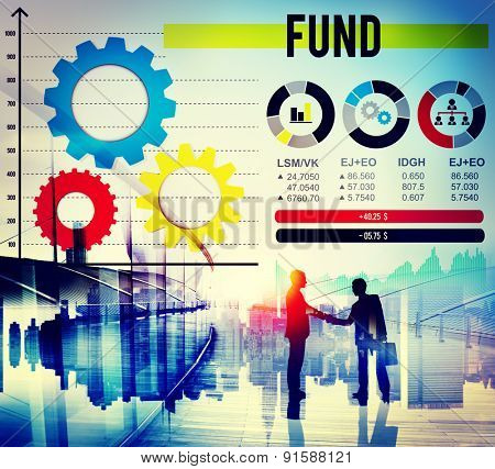 Fund Reserve Supply Money Gain Concept