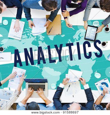 Analytics Analysis Planning Strategy Marketing Concept