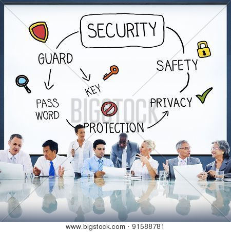Security Privacy Protection Secrecy Networking Concept