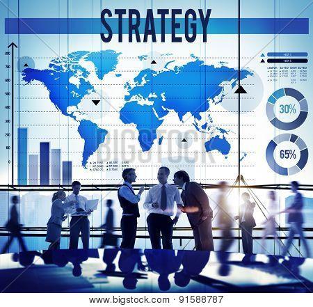 Strategy Business Development Process Solution Concept