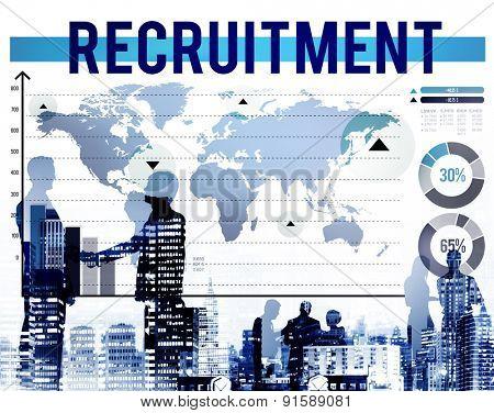Recruitment Employment Hiring Job Staff Concept