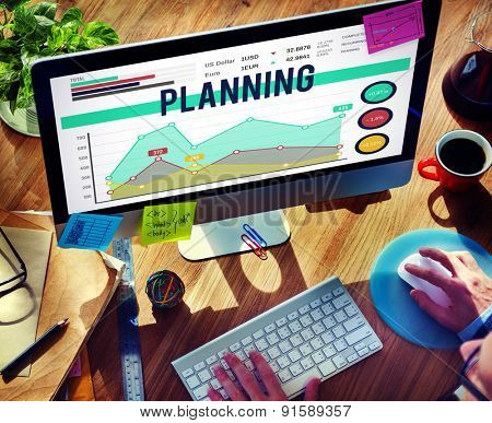 Plan Planning Strategy Marketing Vision Concept