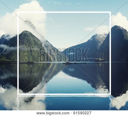 Milford Sound Fiordland New Zealand Landscape