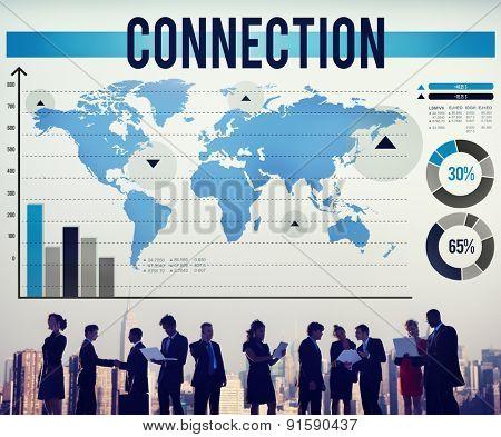 Connection Network Unity Partnership Collaboration Concept