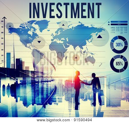Investment Financial Banking Economy Income Concept
