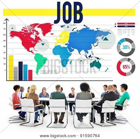 Job Professional Occupation Hiring Profession Concept
