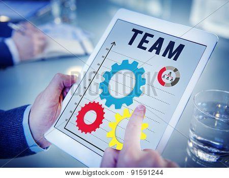 Team Teamwork Partnership Organization Group Concept