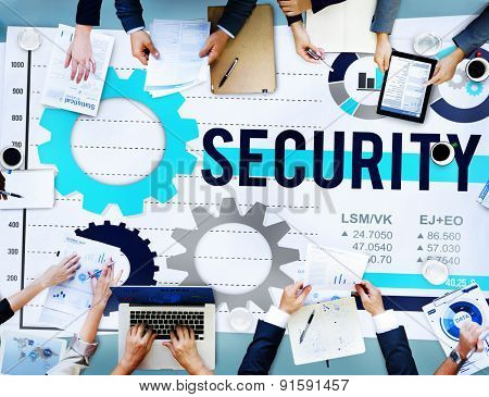 Security Protection Privacy Policy Password Concept