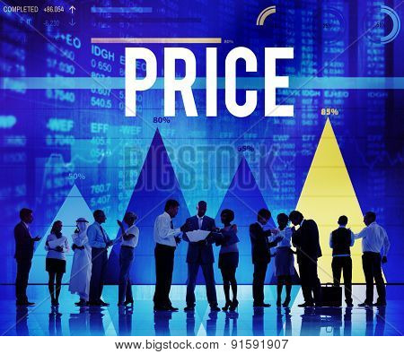 Price Cost Expense Money Product Rate Concept