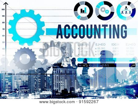 Accounting Account Financial Finance Economy Concept
