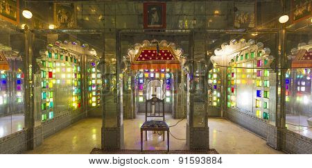 Inside The City Palace  In Udaipur