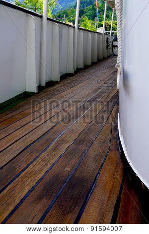 Boat Wooden Deck