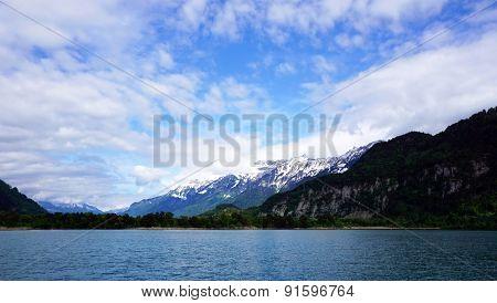 Scene Of Thun Lake