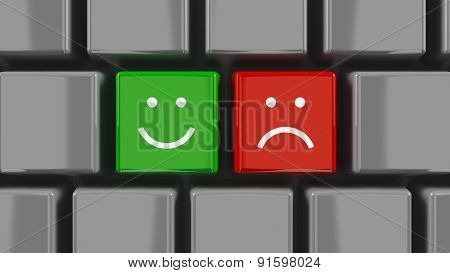 Keyboard Positive And Negative