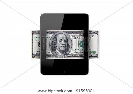 Banknote In Tablet