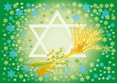 Background For Congratulation To The Holiday Of Shavuot