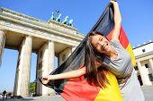 stock photo of cheer  - German flag  - JPG