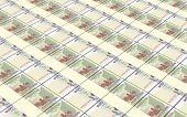 image of bundle money  - Cambodian money bills stacks background - JPG