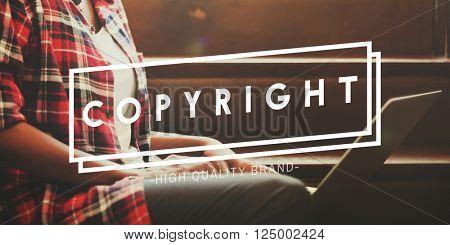 Copyright Branding Marketing Strategy Trademark Concept