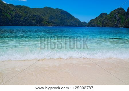 Beautiful tropical beach, Palawan, Philippines, Southeast Asia
