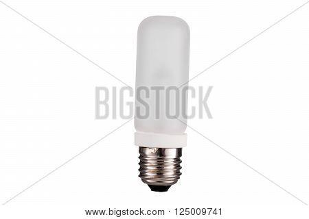E27 Strobes lightbulb isolated on white background
