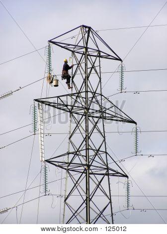Trabajador de la torre