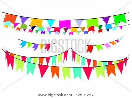 Set of Pennants